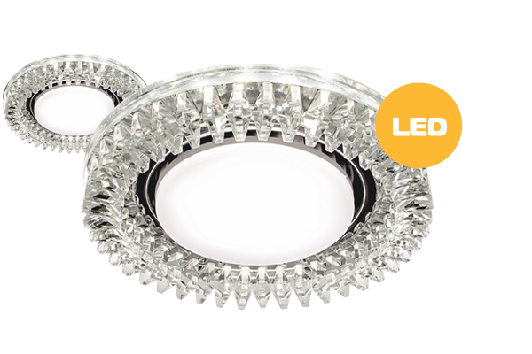 Crystal GX53 5 Led